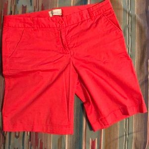 J. Crew Bermuda shorts - Size 6